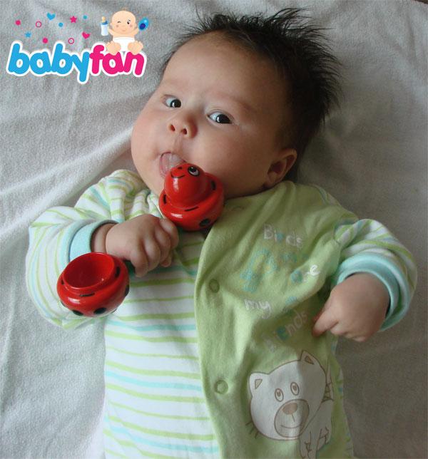 Wachstumsschub Baby