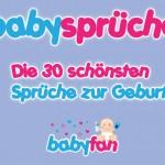 Babysprüche