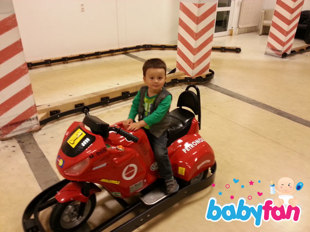 Gokart-Bahn im Kinderhotel Oberjoch