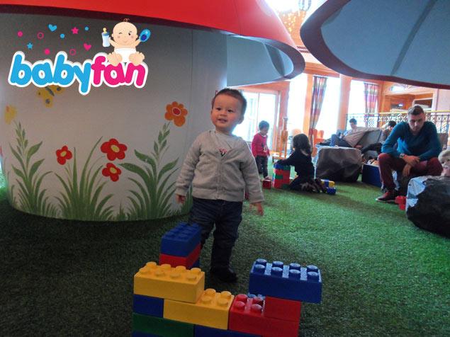 Spielbereich in der Lobby